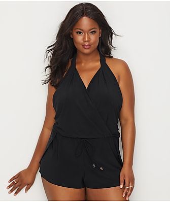 Magicsuit Plus Size Bianca Wire-Free One-Piece Romper