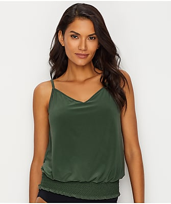 Magicsuit Solids Justina Tankini Top