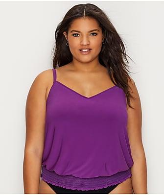 Magicsuit Plus Size Justina Tankini Top