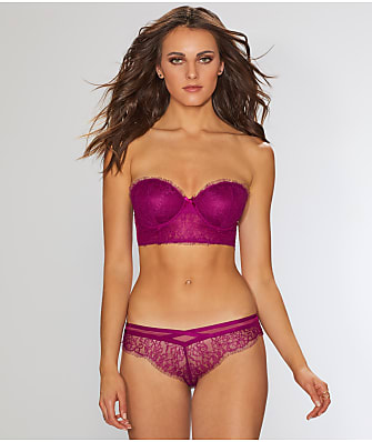 Maidenform Eyelash Lace Convertible Longline Bra