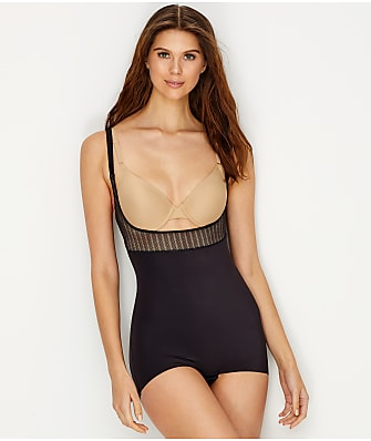 Maidenform Firm Foundations Firm Control Open-Bust Bodysuit