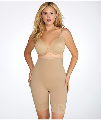 Maidenform Plus Size Firm Foundations High-Waist Thigh Slimmer