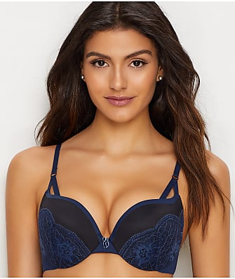 Maidenform Love the Lift Plunge Push-Up & In Lace Bra