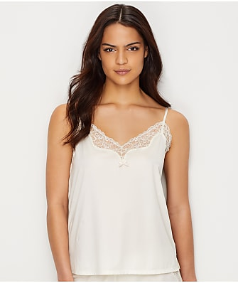 Maidenform Satin and Lace Cami Sleep Top