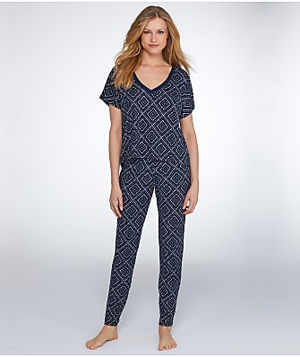Maidenform Santorini Evening Knit Pajama Set