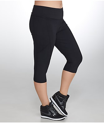 Marika Curves Plus Size Slimming High Rise Capri