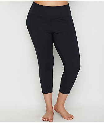 Marika Curves Plus Size Hunter High Rise Slimming Capri