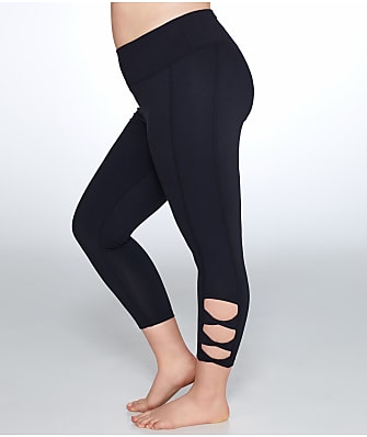 Marika Curves Plus Size Adore Cut Out Capri