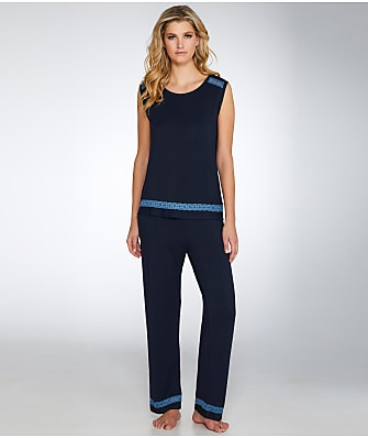 Midnight by Carole Hochman Knit Pajama Set