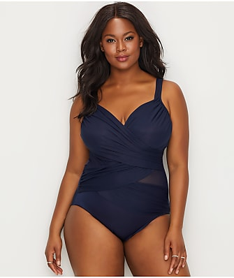 Miraclesuit Plus Size Solid Madero One-Piece