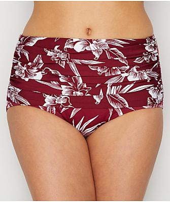 Miraclesuit Hibiskiss Norma Jean Retro Bikini Bottom