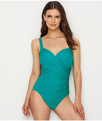 Miraclesuit Must Haves Sanibel Underwire One-Piece DD-Cups