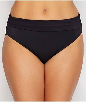 Miraclesuit Solid Fold-Over Bikini Bottom