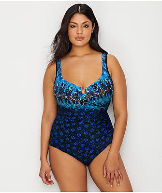 Miraclesuit Plus Size Sunset Cay Escape Underwire One-Piece