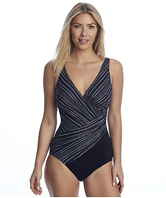Miraclesuit No Static Oceanus Underwire One-Piece DD-Cups