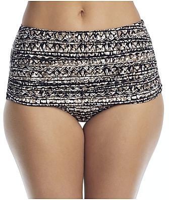 Miraclesuit Golden Lynx Norma Jean Retro Bikini Bottom