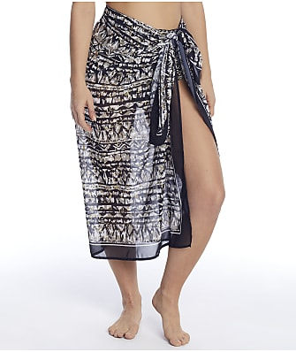 Miraclesuit Golden Lynx Sarong Cover-Up