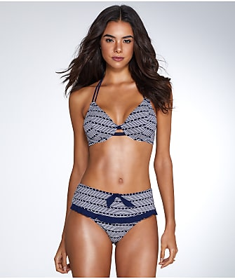 Miss Mandalay Cabana Halter Bikini Top