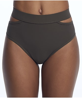 Miss Mandalay Icon Split High-Waist Bikini Bottom