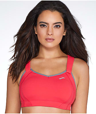 Brooks Juno Racerback Maximum Control Wire-Free Sports Bra