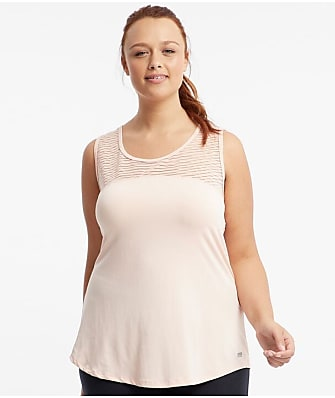 Marika Curves Plus Size Breeze Mesh Tank