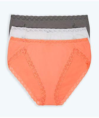 Natori Bliss French Cut Bikini 3-Pack