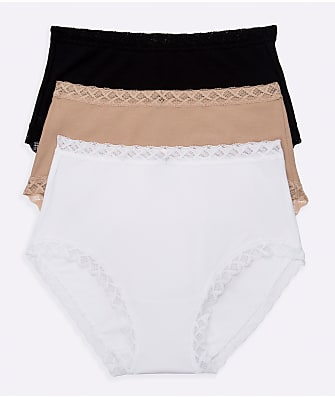 Natori Bliss Cotton Full Brief 3-Pack