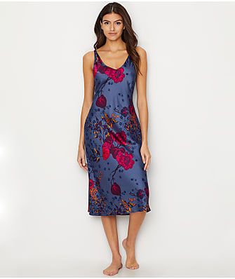N Natori Impressions Silky Satin Nightgown
