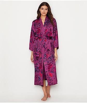 N Natori Impressions Silky Satin Robe