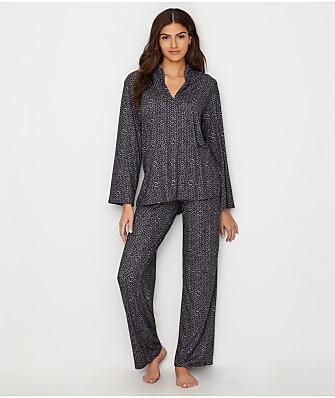 N Natori Mosaic Knit Pajama Set