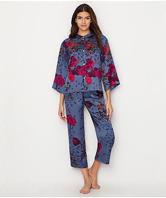 N Natori Impressions Satin Pajama Set
