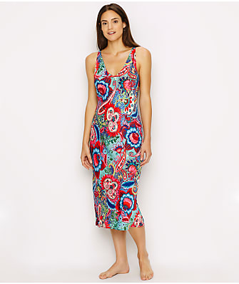 N Natori Paisley Bloom Woven Nightgown