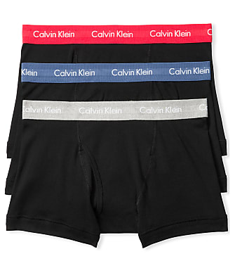 Calvin Klein Cotton Classic Trunk 3-Pack