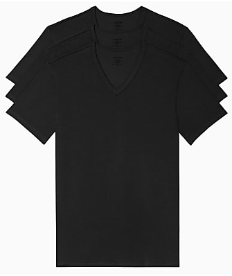 Calvin Klein Cotton Stretch V-Neck T-Shirt 3-Pack
