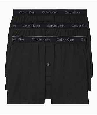 Calvin Klein Cotton Classics Knit Boxers 3-Pack