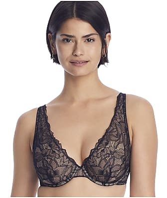 NearlyNude The Poppy Lace Plunge Bra