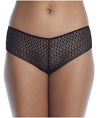 Nearly Nude The Modern Geo Lace V-Cut Hipster