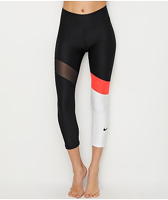 Nike Colorblock Power Crop Leggings