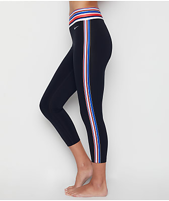Nike Crop Stripe Tape Capri Leggings