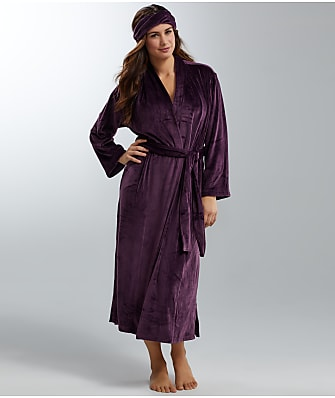 N Natori Velour Robe and Headband