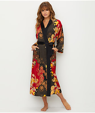 N Natori Forbidden City Satin Robe