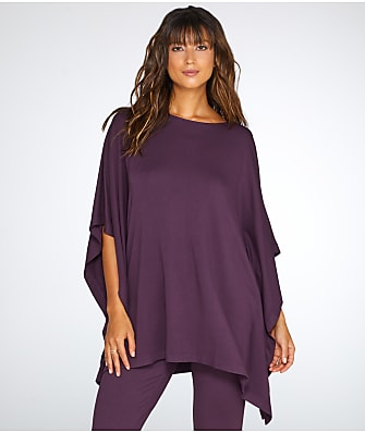 N Natori French Terry Knit Caftan Lounge Top