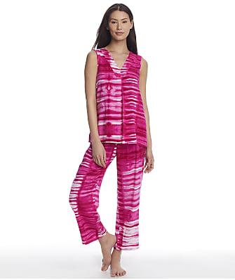 N Natori Shibori Woven Pajama Set