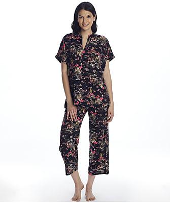 N Natori Pagoda Woven Pajama Set