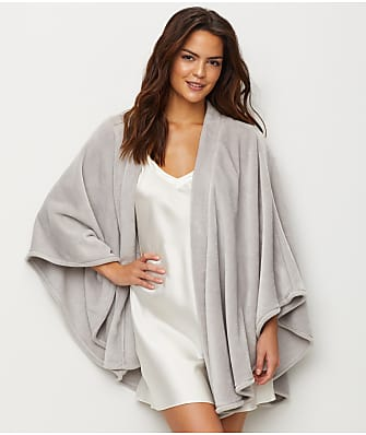 N Natori Faux Cashmere Fleece Wrap