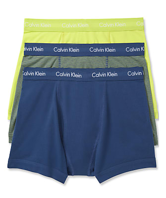Calvin Klein Cotton Stretch Trunk 3-Pack