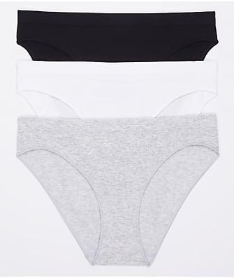 OnGossamer Cabana Cotton Seamless Bikini 3-Pack