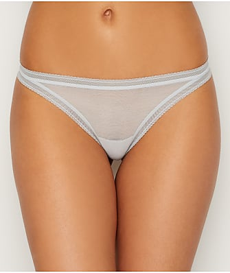 OnGossamer Cotton Mesh Thong