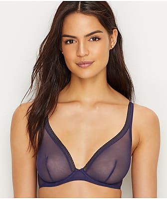 OnGossamer Cotton Mesh Unlined Bra