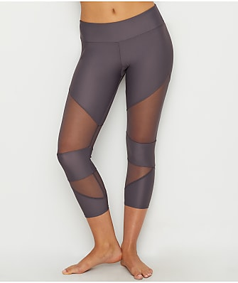 Onzie Mesh Cut-Out Capri